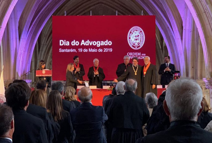NEWCO Founding Partner awarded Portuguese Bar Association Medal of Honour